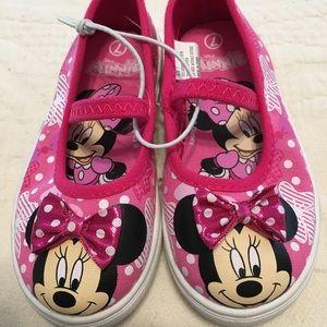 Children girls Mimi Mouse shoes size 7